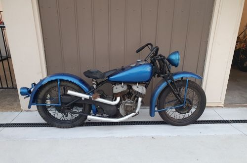 Indian Scout 1941 Occasion