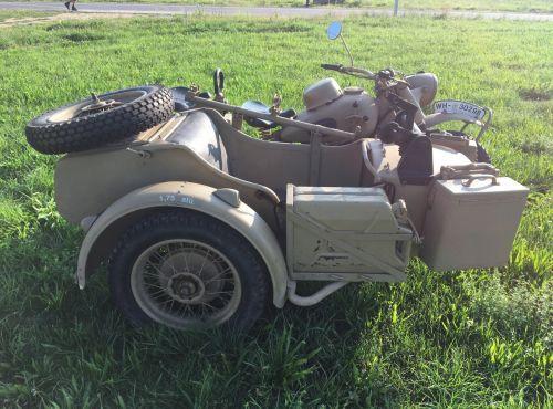 1941 BMW R75 Military