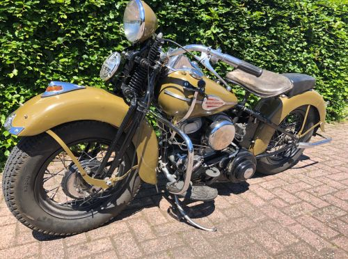 Harley Davidson PanHead 1946 Occasion