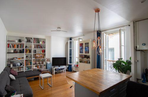Appartement 40 m² 2 Pièces Paris