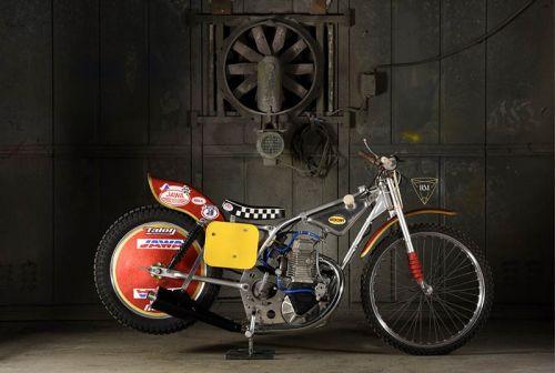JAWA SOHC FOUR-VALVE LONG TRACK RACING MOTORCYCLE